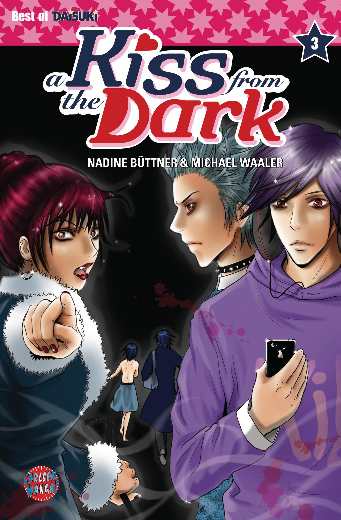 Michael Waaler ~ A Kiss from the Dark 03 9783551786906