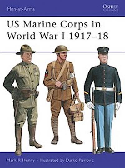 US Marine Corps in World War I 1917 18