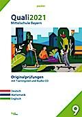 Quali 2021 - Mittelschule Bayern, m. Audio-CD