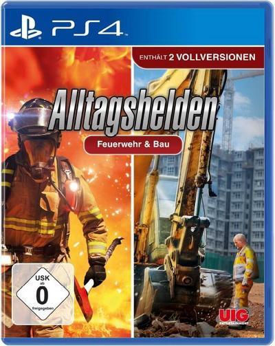 Bundle Alltagshelden - Berufsfeuerwehr & Bau (PlayStation PS4)