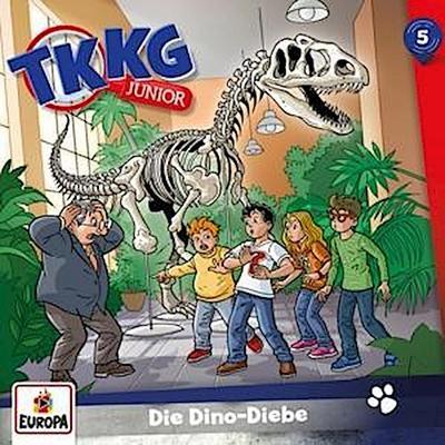 TKKG Junior 05. Die Dino-Diebe