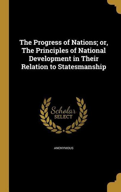 PROGRESS OF NATIONS OR THE PRI