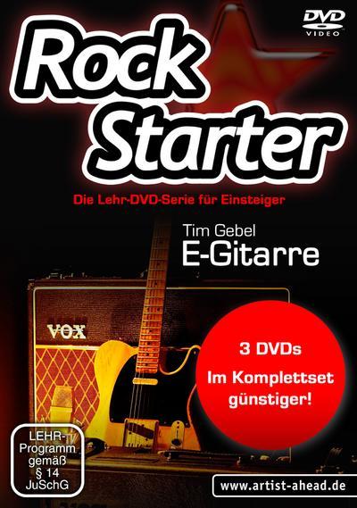 Rockstarter Vol. 1-3 - E-Gitarre (3 DVDs)