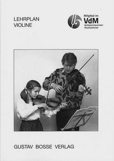 Lehrplan ViolineVerband deutscher Musikschulen
