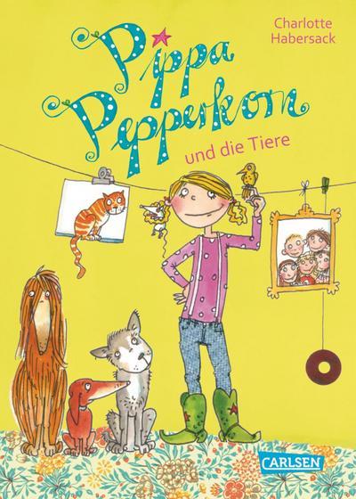 Pippa Pepperkorn 02. Pippa Pepperkorn und die Tiere