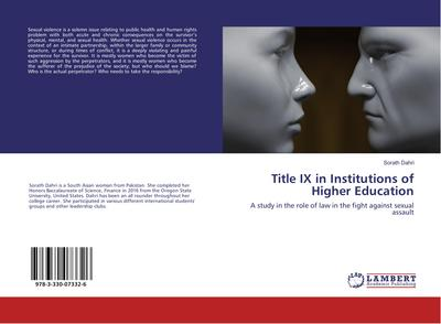 Title IX in Institutions of Higher Education