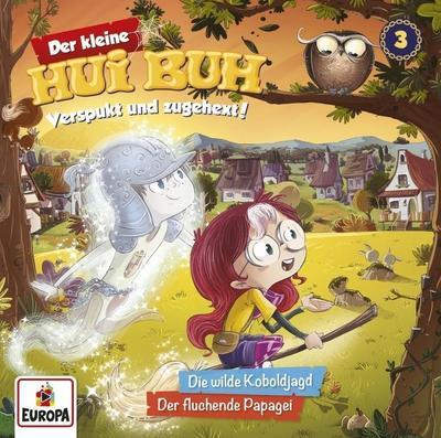 Der kleine Hui Buh - Die wilde Koboldjagd / Der fluchende Papagei, 1 Audio-CD