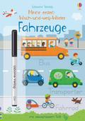 Meine ersten Wisch-und-weg-Wörter: Fahrzeuge
