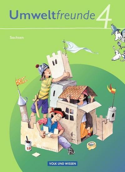 Umweltfreunde 4. Schuljahr.  Schülerbuch Sachsen