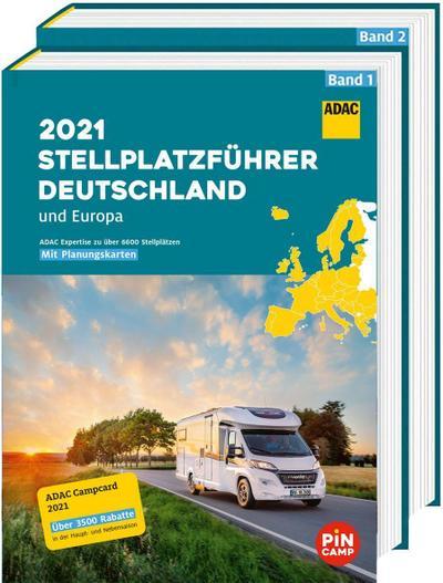 ADAC Stellplatzführer 2021 Deutschland und Europa