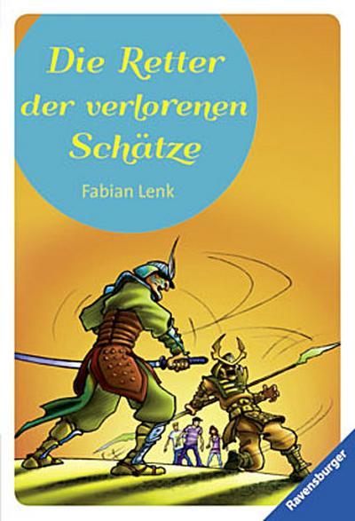 Die Retter der verlorenen Schätze   ; Ravensb. Tb. ; Ill. v. Bunse, Rolf; Deutsch; schw.-w. Ill. -