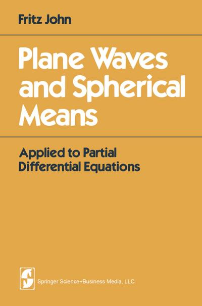 Plane Waves and Spherical Means