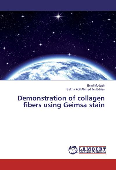 Demonstration of collagen fibers using Geimsa stain