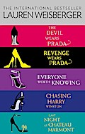 9780007528400 - Lauren Weisberger: Lauren Weisberger 5-Book Collection: The Devil Wears Prada, Revenge Wears Prada, Everyone Worth Knowing, Chasing Harry Winston, Last Night at Chateau Marmont - Buch