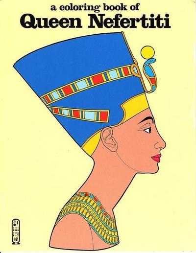 Queen Nefertiti-Coloring Book