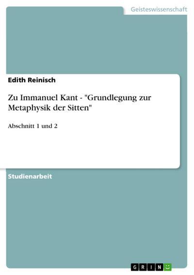 Zu Immanuel Kant -
