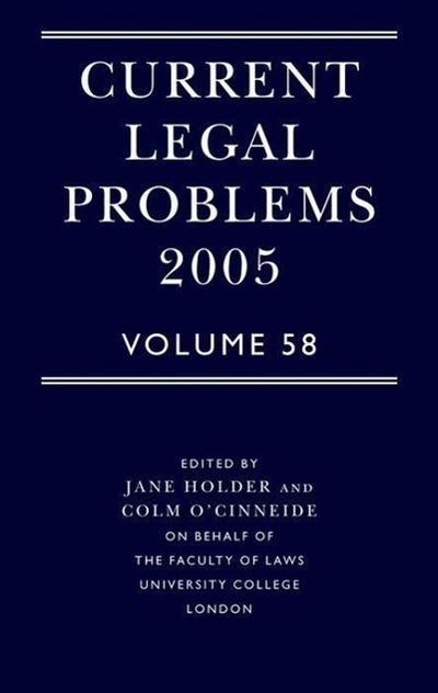 Current Legal Problems