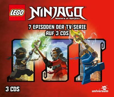 LEGO® Ninjago Hörspielbox 4