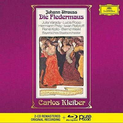 Die Fledermaus, 2 Audio-CDs + 1 Blu-ray-Audio