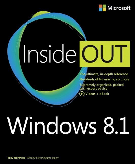 Windows® 8.1 Inside Out Tony Northrup