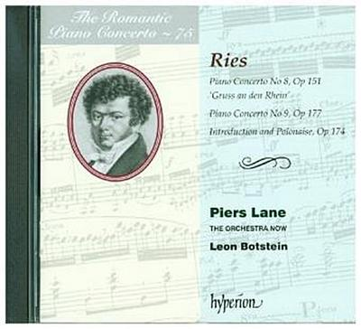 Klavierkonzerte Nr. 8 & 9, 1 Audio-CD