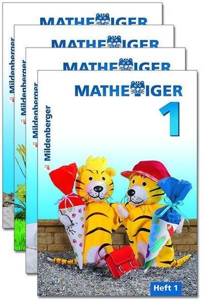 Mathetiger 1 Jahreszeiten-Hefte, Klasse 1