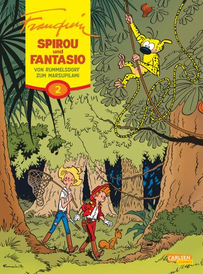 Spirou & Fantasio Gesamtausgabe 02: Von Rummelsdorf zum Marsupilami