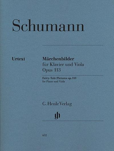 Märchenbilder für Viola und Klavier op. 113