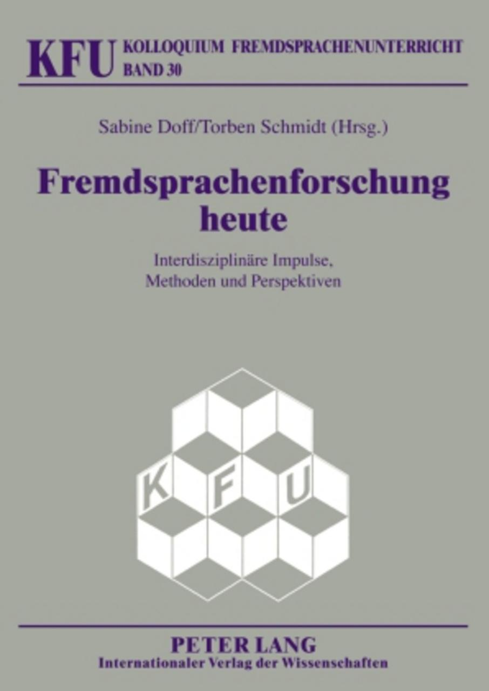 Fremdsprachenforschung heute ~ Sabine Doff ~  9783631567128