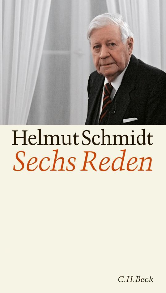 Sechs Reden Helmut Schmidt 9783406608308