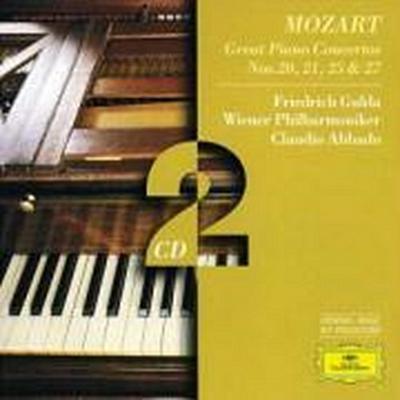 Mozart, W.A.: Piano Concertos Nos.20 & 21