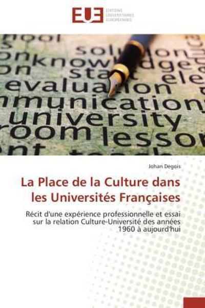 La Place de la Culture dans les Universités Françaises