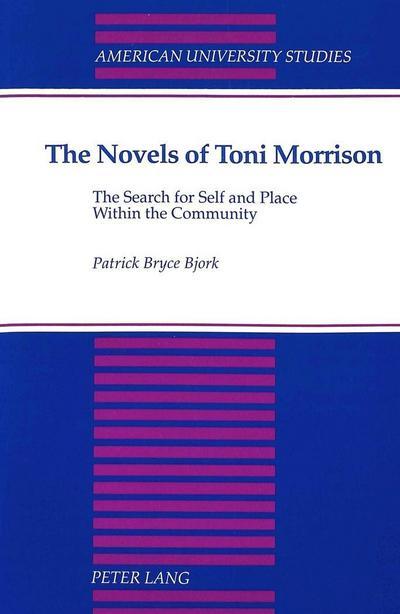 The Novels of Toni Morrison