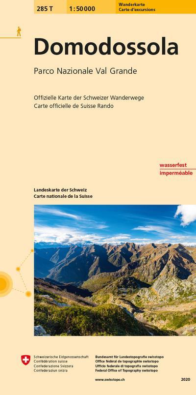 Swisstopo 1 : 50 000 Domodossola