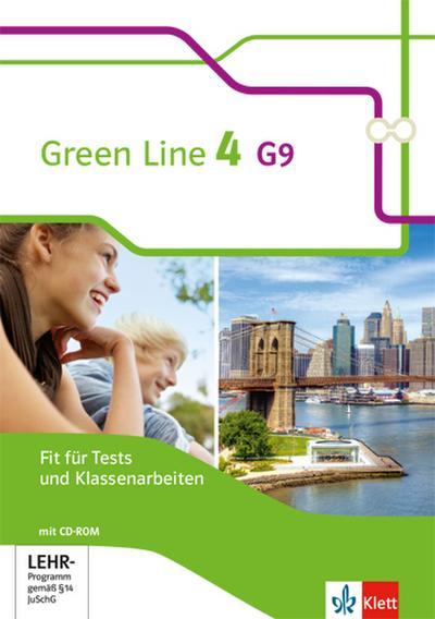 Green Line 4. Fit für Tests und Klassenarbeiten. Arbeitsheft mit Lösungsheft und CD-ROM
