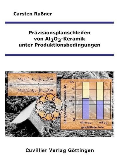 Präzisionsplanschleifen von Al2O3-Keramik unter Produktionsbedingungen