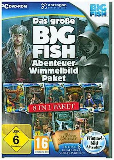 Das große Big Fish Abenteuer Wimmelbild-Paket, 1 DVD-ROM