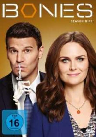 Bones. Season.9, 6 DVDs