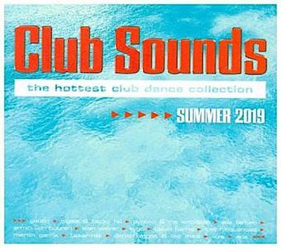 Club Sounds Summer 2019, 3 Audio-CDs