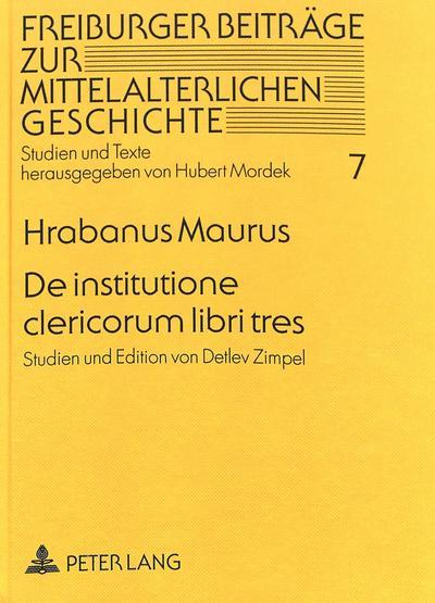 De institutione clericorum libri tres