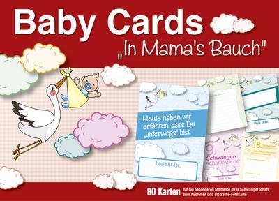 Baby Cards In Mamas Bauch: Selfie Meilenstein-Erinnerungskarten für Ihre Schwangerschaft - Familia Verlag - Karten, Deutsch, , 80 Foto-Erinnerungskarten für Ihre Schwangerschaft. Mit Platz für eigene Eintragungen, 80 Foto-Erinnerungskarten für Ihre Schwangerschaft. Mit Platz für eigene Eintragungen