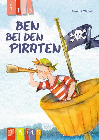 Ben bei den Piraten - Lesestufe 1 (KidS - Klassenlektüre in drei Stufen)