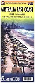 Australia East Coast 1 : 1 800 000