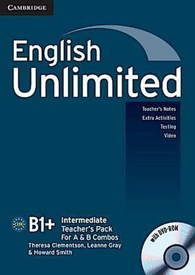 English Unlimited Intermediate Teacher's Pack (Teacher's Book with DVD-Rom)