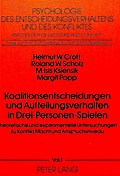 Koalitionsentscheidungen und Aufteilungsverha ...