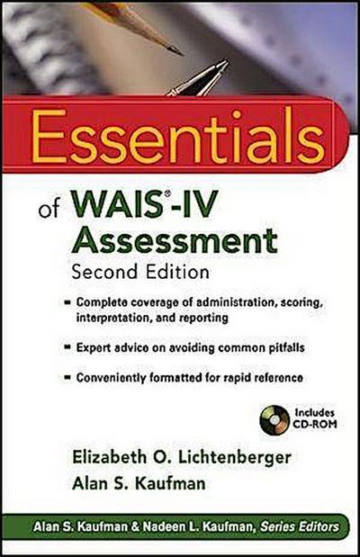 Essentials of WAIS?-IV Assessment
