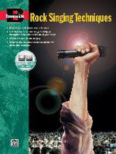 Basix: Rock Singing Techniques, m. Audio-CD