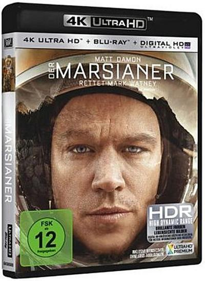 Der Marsianer - Rettet Mark Watney 4K, 1 UHD-Blu-ray + 1 Blu-ray + Digital HD UV