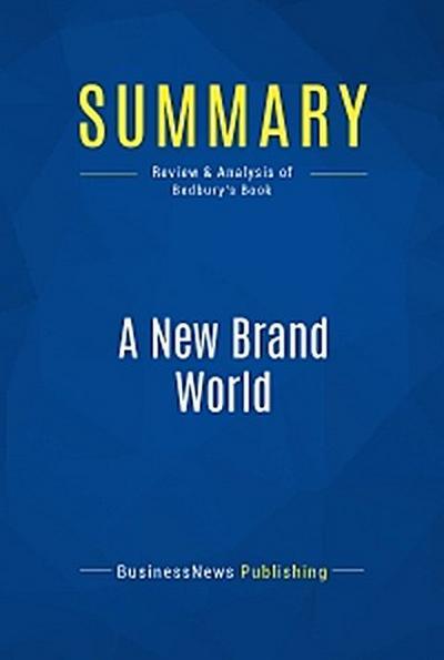 Summary: A New Brand World