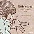 Belle & Boo 2018 Familienplaner